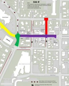 East Grand Avenue reconstruction map 2