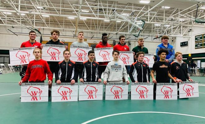 Wisconsin Rapids Wrestlers Have Four Regional Champions Seven Other Grapplers Qualify For Sectionals Wisconsin Rapids City Times